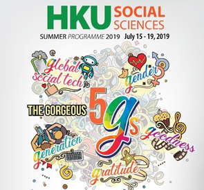 """The Gorgeous 5 """"G""""s Summer Programme"""