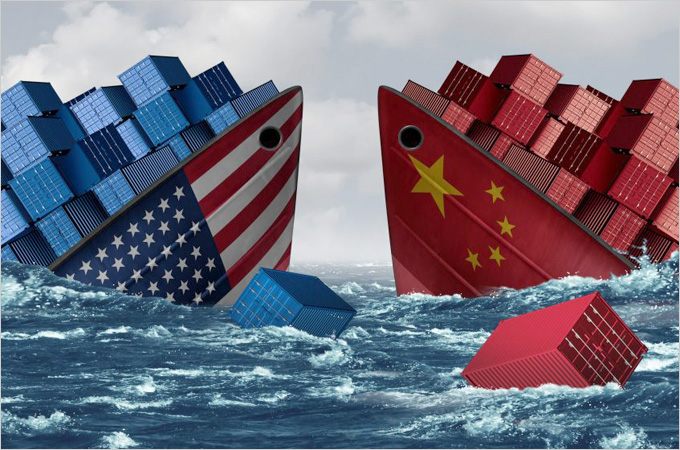 A review of the US-China trade war