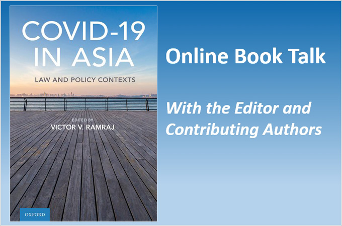 Covid-19 in Asia - Law and Policy Contexts