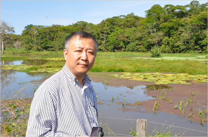 Professor Peng Gong receives 2020 AWS Amazon Machine Learning Research Award