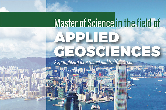 Master of Science in Applied Geosciences