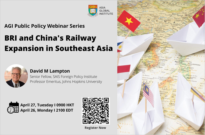 BRI and China's Railway Expansion in Southeast Asia
