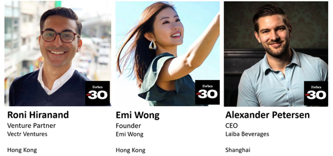 HKU Young Alumni named Forbes 30 Under 30 Asia 2021