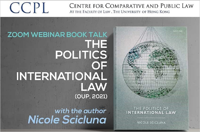 [May 20] The Politics of International Law