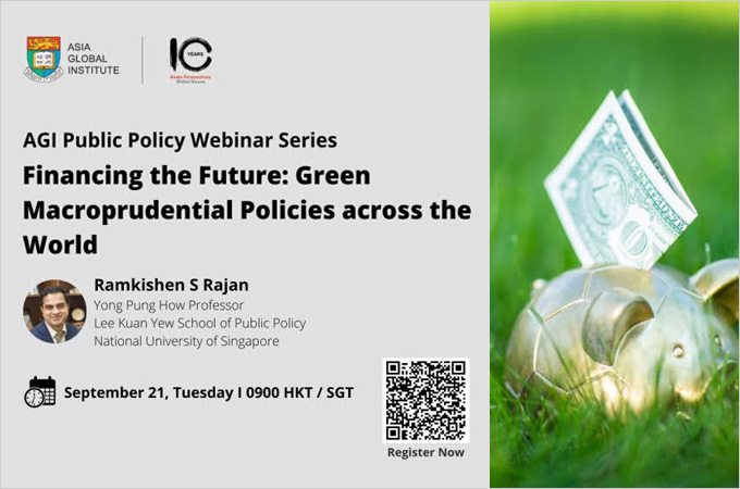 [Sep 21] Financing the Future: Green Macroprudential Policies across the World