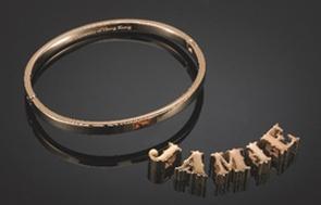 Image of the HKU customized bangle