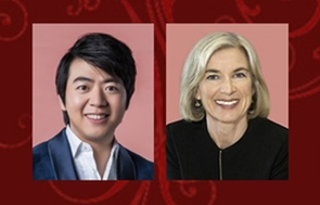Banner of the 198th congregation awardee Dr Lang Lang and Professor Jennifer A Doudna